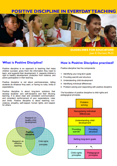 Positive Discipline in Everyday Teaching
