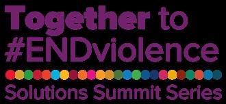Together to #ENDviolence logo