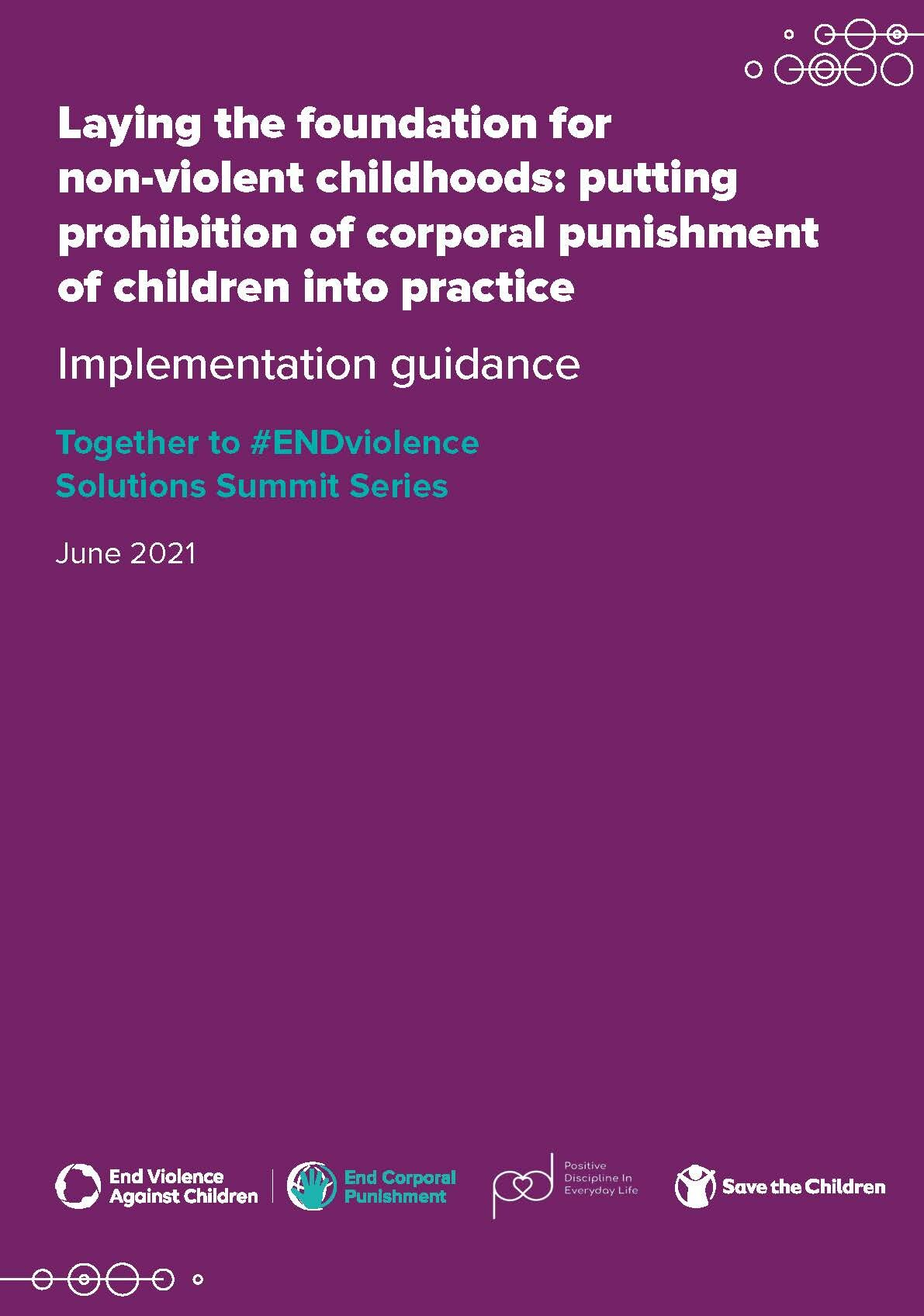 Implementation guidance cover
