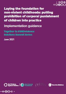 Implementation guidance cover small
