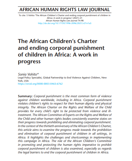 African Charter 30th anniversary