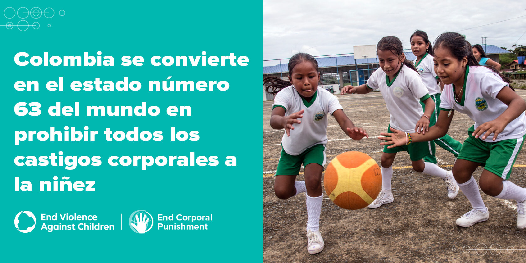 Colombia annoucement-girls football ES